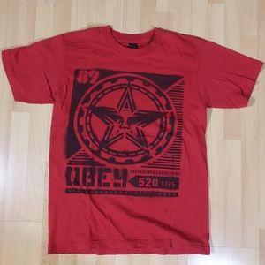 Red OBEY Propaganda Engineering 520 Shirt